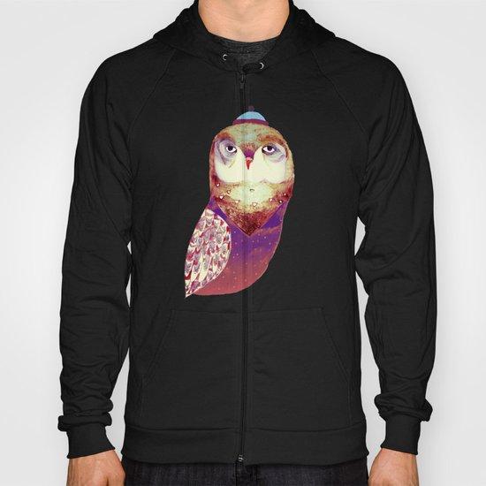 Purple Owl Hoody