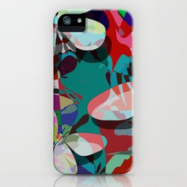 Butterflies abstract iPhone Case