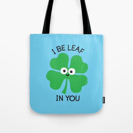 Cloverwhelming Support Tote Bag