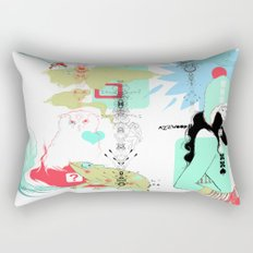 Funky s*!t Rectangular Pillow