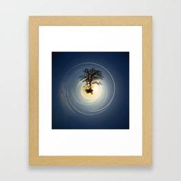 Tiny Planet 5 - The Last Lampost Framed Art Print