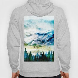 Mountain Landscape Hoody