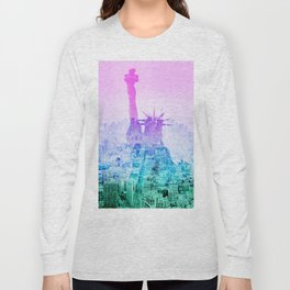 STATUE OF LIBERTY NEW YORK Long Sleeve T-shirt