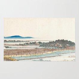 View of Azuma Wood Rug