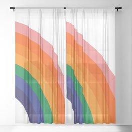 Fresh Bow - Right Sheer Curtain