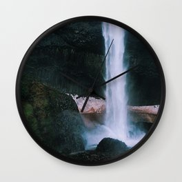 Latourell Falls - OR #2 Wall Clock