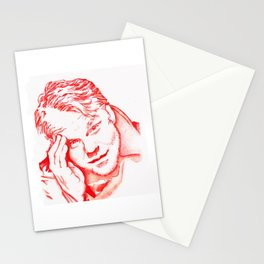 Philip Seymour Hoffman in Red Stationery Cards