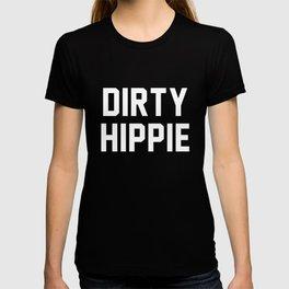 Dirty Hippie - black version T-shirt