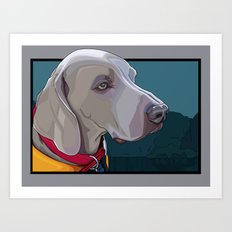Jake Dog Art Print