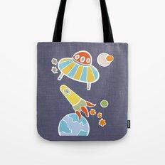space flying Tote Bag