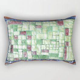 In the Mirror of Modernity Rectangular Pillow