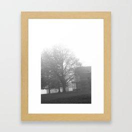 Creepy House Framed Art Print