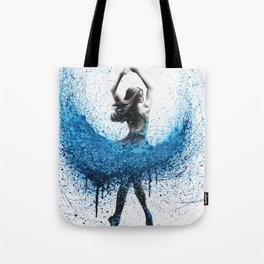 Clair De Lune Ballerina Tote Bag