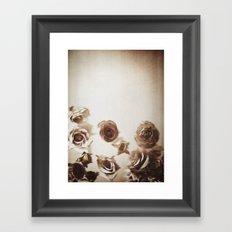 Falling Flower Variation II Framed Art Print