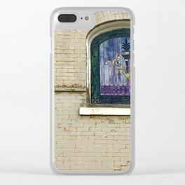 Stain glass window, Salt Lake City Clear iPhone Case