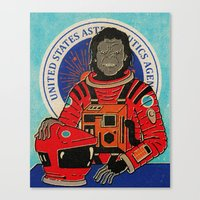 dave matthews Canvas Prints featuring Dave by Derek Eads