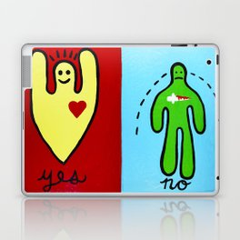 Yes/No Laptop & iPad Skin