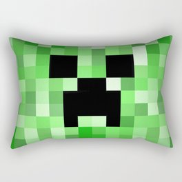 Creepy Creeper! Rectangular Pillow