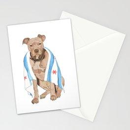 Chicago Dog Artwork & Home Decor Stationery Cards