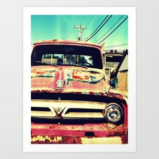 Old Things Are The Best Things Art Print