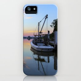 Sunset on Jones Creek II iPhone Case