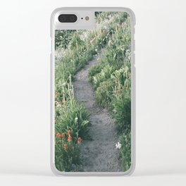 Happy Trails XIII Clear iPhone Case