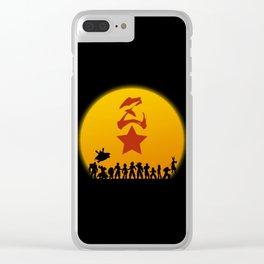 Super Warriors Clear iPhone Case
