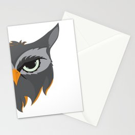 Be Wise like an Owl Stationery Cards