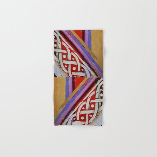 Celtic Knot with Autumn Colors Hand & Bath Towel