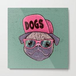 Dogs Metal Print