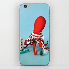 Ukelele Octopus iPhone Skin