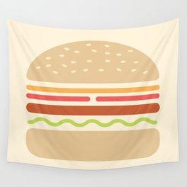 #62 Hamburger Wall Tapestry