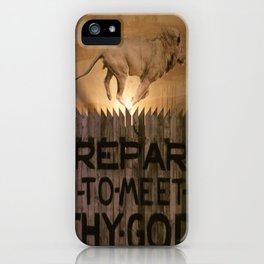 Book of Amos iPhone Case