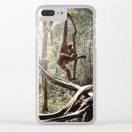 orangotango Clear iPhone Case