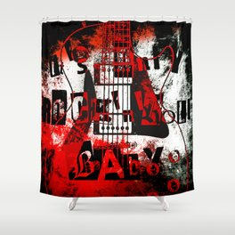 it's only rock n roll Baby Shower Curtain