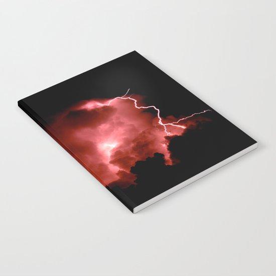Lightning Strikes Notebook