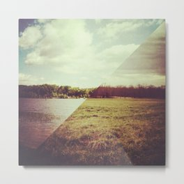 land/water | no. 2 Metal Print