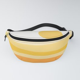 Abstract Landscape 09 Yellow Fanny Pack