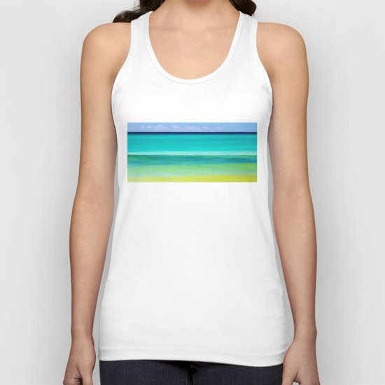 the colors of the sea Unisex Tank Top