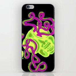 ClOCK EYES iPhone Skin