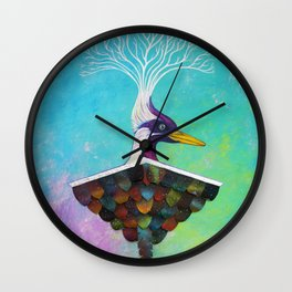 Flying Roots Wall Clock