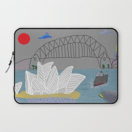Smokey Sydney (Ken Done Tribute) Laptop Sleeve