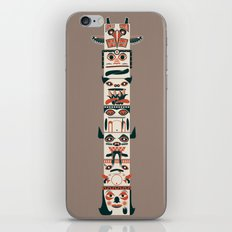 TOTEM POLE iPhone & iPod Skin