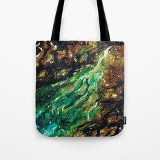 Emerald Vein  Tote Bag