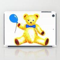 teddy bear iPad Cases featuring Teddy Bear by Artisimo