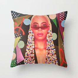 Beads Beauty Throw Pillow