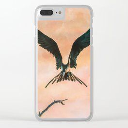 Bird 2 Clear iPhone Case