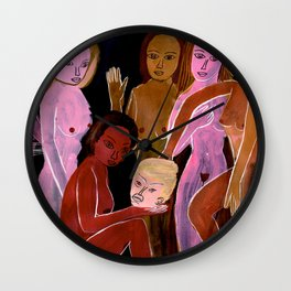 Maenads March on Washington Wall Clock