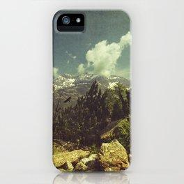 Italian Mountains iPhone Case