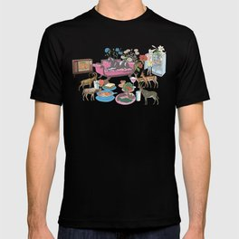 Black Panther and Friends T-shirt